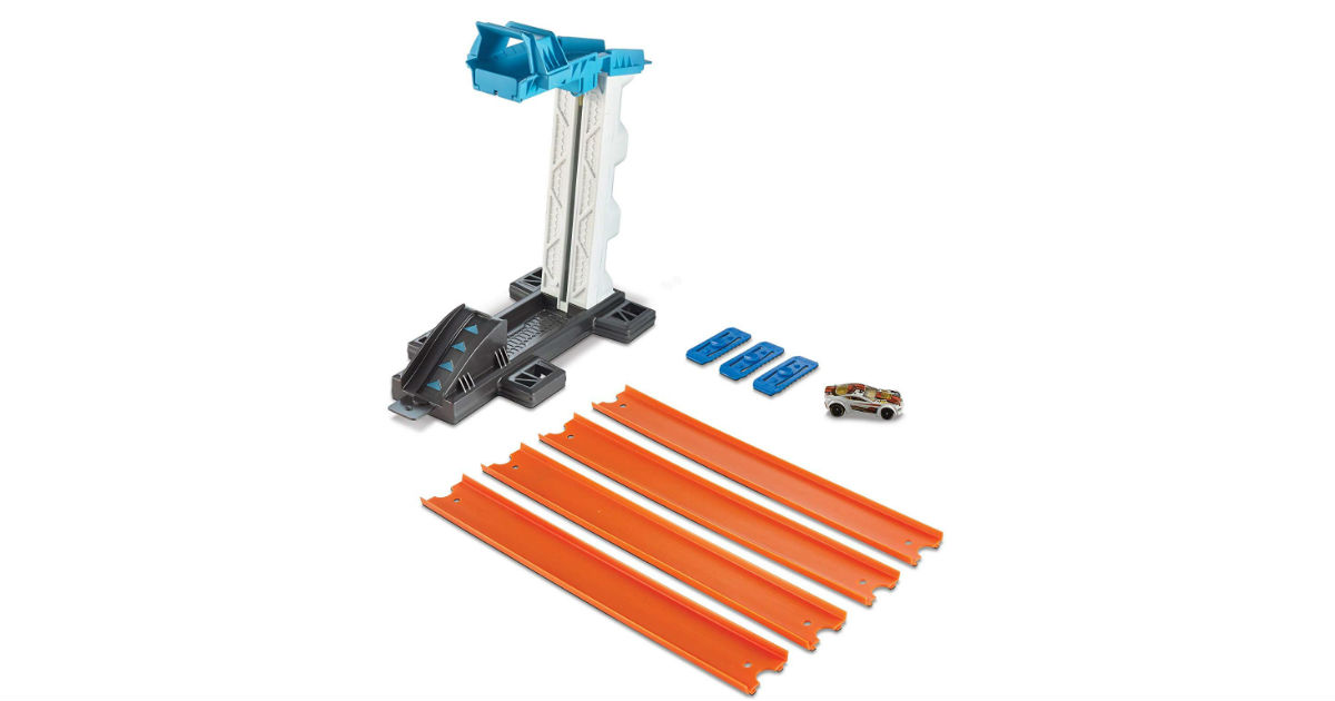 Hot Wheels Track Builder Lift & Launch ONLY $9.97 (Reg. $30)