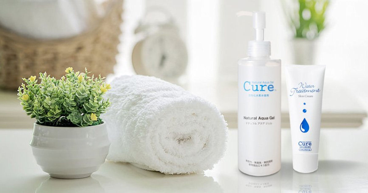 FREE Sample of Cure Natural Aqua Gel & Water Treatment
