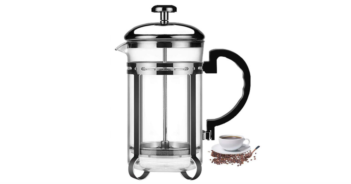 French Press Coffee Maker ONLY $11.03 (Reg. $26)