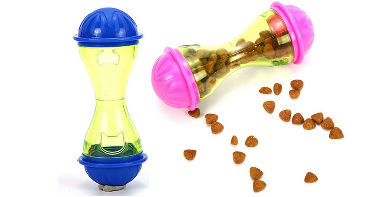 Pet Tumbler Toy 2-Pack ONLY $5.88 (Reg. $14)
