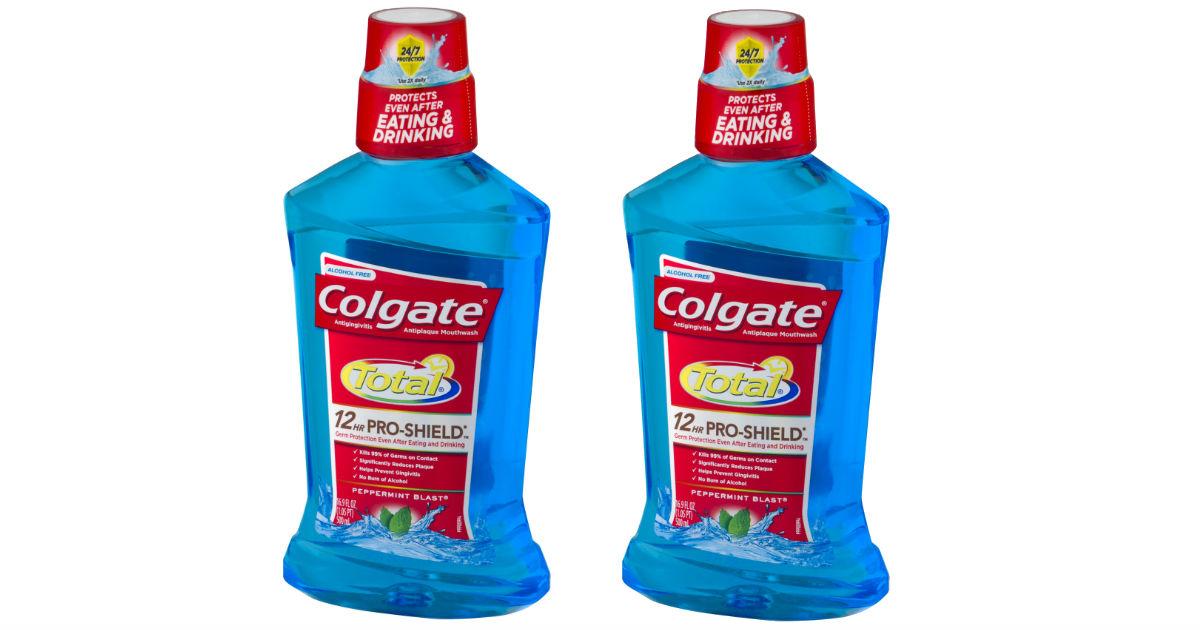 Colgate Total Mouthwash ONLY $0.99at CVS