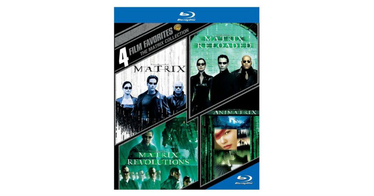 The Matrix Blu-ray Box Set ONLY $10.66 on Amazon