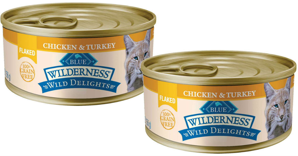 Blue Buffalo Wilderness Wet Cat Food ONLY $0.83 at Walmart
