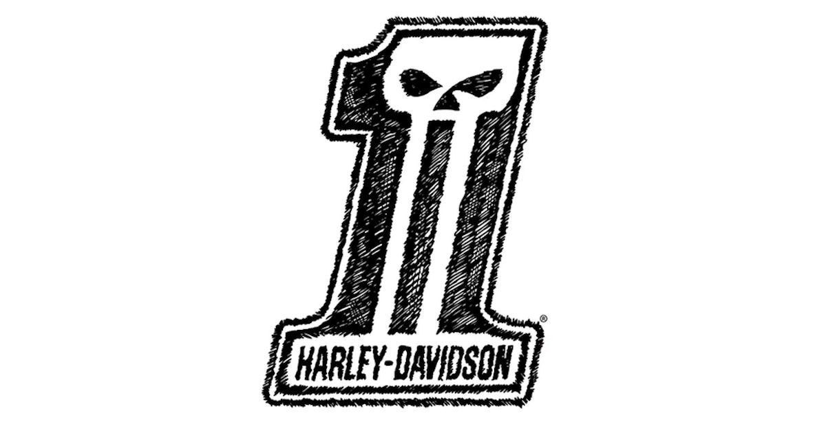 FREE Harley-Davidson Sticker..