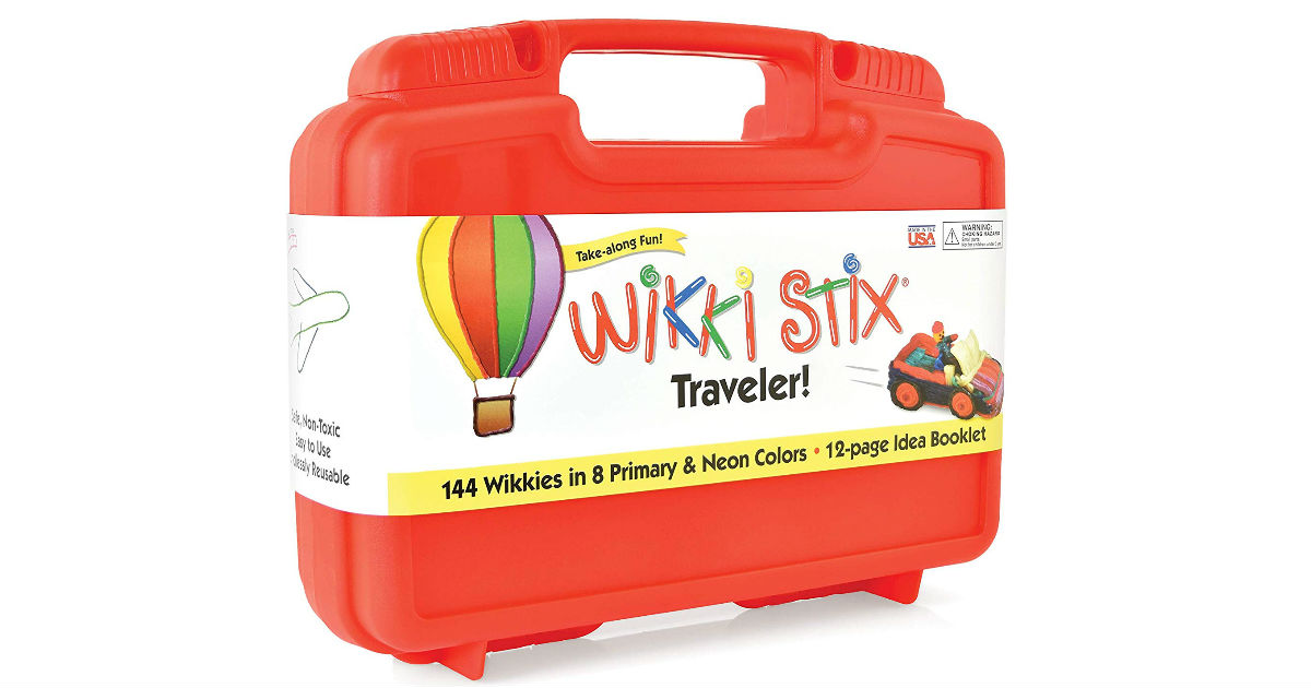 WikkiStix Traveler Playset ONLY $10.99 (Reg. $20)
