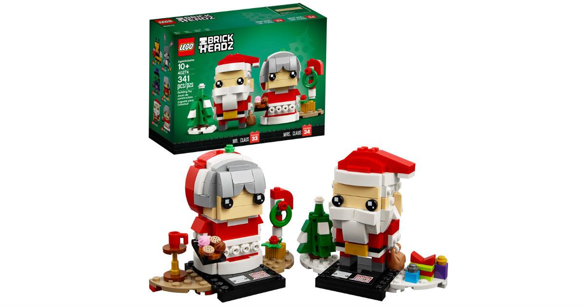 LEGO BrickHeadz Mr. & Mrs. Claus ONLY $13.99 (Reg $25)