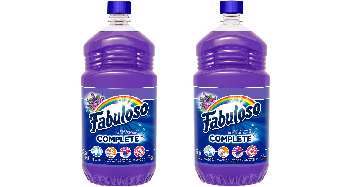 Fabuloso at Walmart