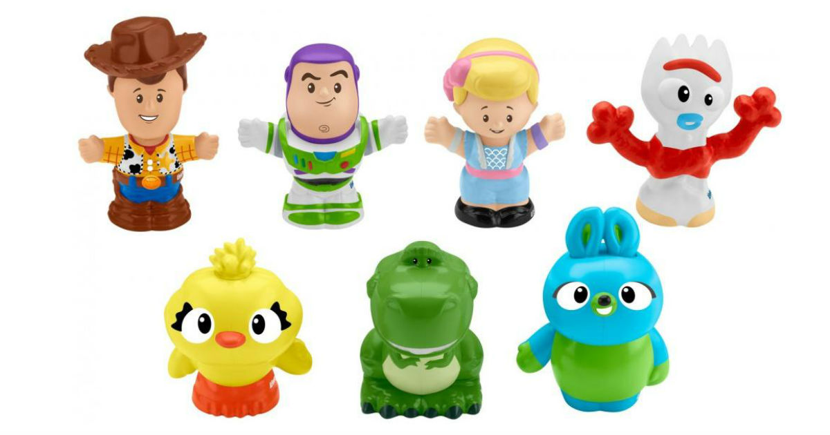 Little People Disney Pixar Toy Story Character 7-Pk ONLY $10.99