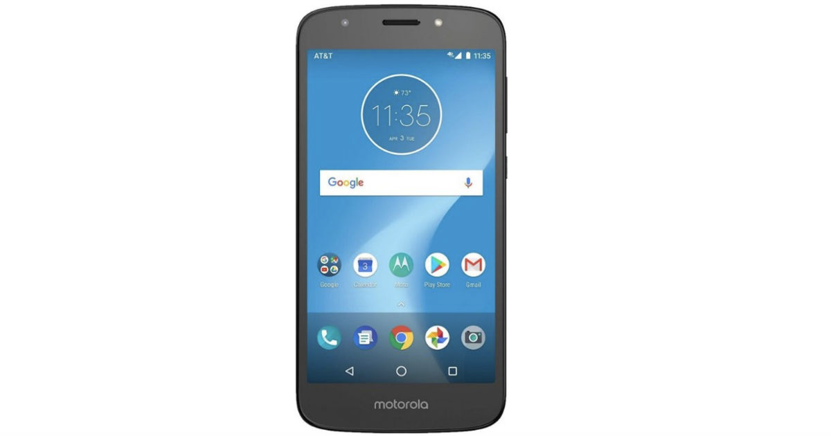 Motorola MOTO E5 Play AT&T Prepaid Smartphone ONLY $29.99