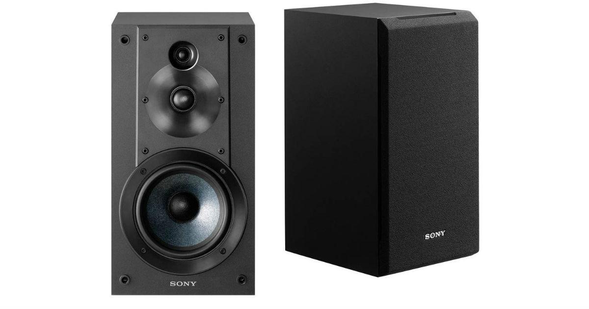 Sony 3-Way Bookshelf Speaker System ONLY $73 (Reg. $148)