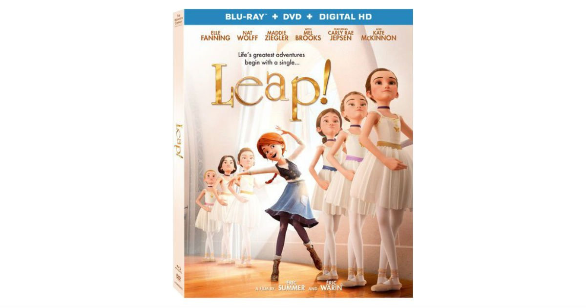 Leap! Blu-ray + DVD + Digital ONLY $8.93 (Reg. $20)