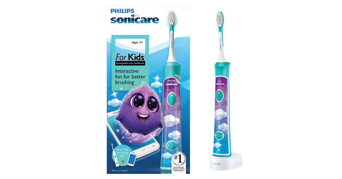 Philips Sonicare for Kids ONLY $29.95 (Reg. $50)