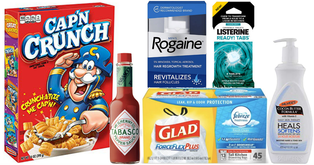 Over $44in New Coupons to Print - Lots of Favorite Brands