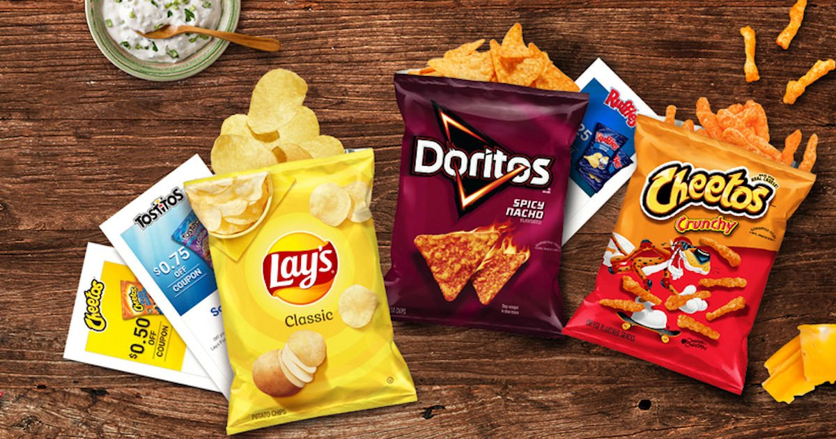 FREE Frito-Lay Coupons Mailed.
