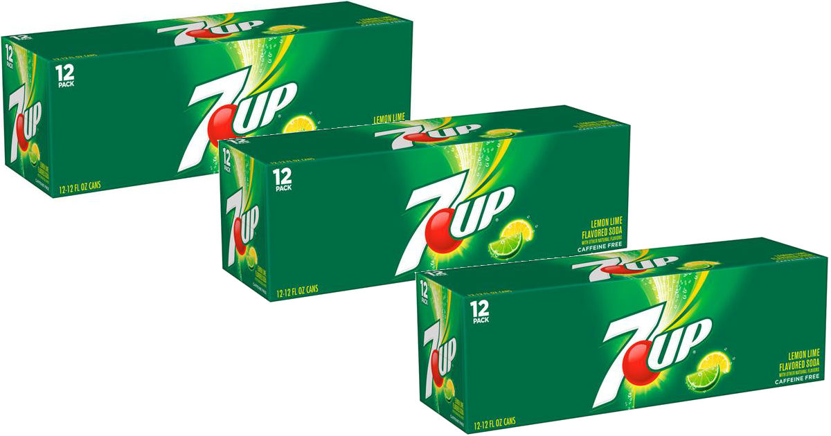 7Up Soda 12-Pack ONLY $2.24 at...