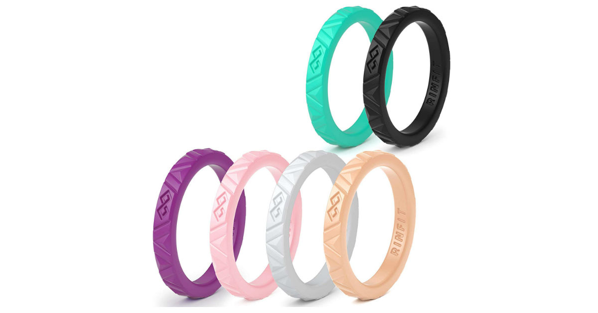 Rinfit Silicone Rings Pack ONLY $6.90 (Reg. $30)