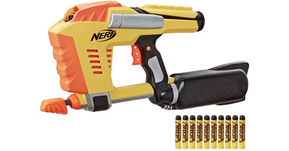 NERF Icon Series Magstrike AS 10 Blaster ONLY $11.25 at Target