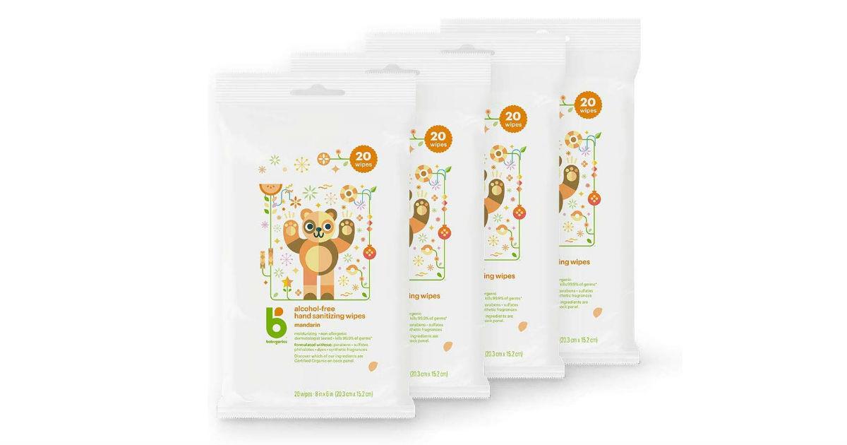 Babyganics Hand Sanitizer Wipes ONLY $5.29 (Reg. $12)