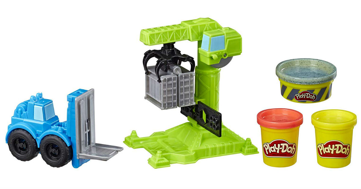 Play-Doh Wheels Crane & Forklift ONLY $3.50 (Reg. $10)