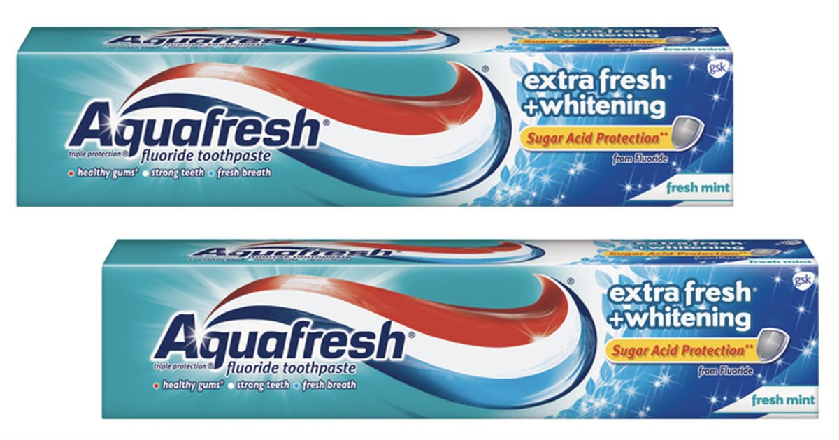 Aquafresh Extra Fresh Toothpaste Only 0 48 At Walmart Printable