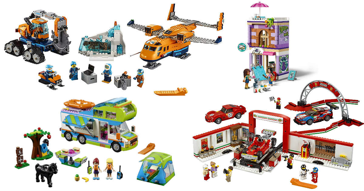 Save $10 When You Spend $50 on Select LEGO Toys