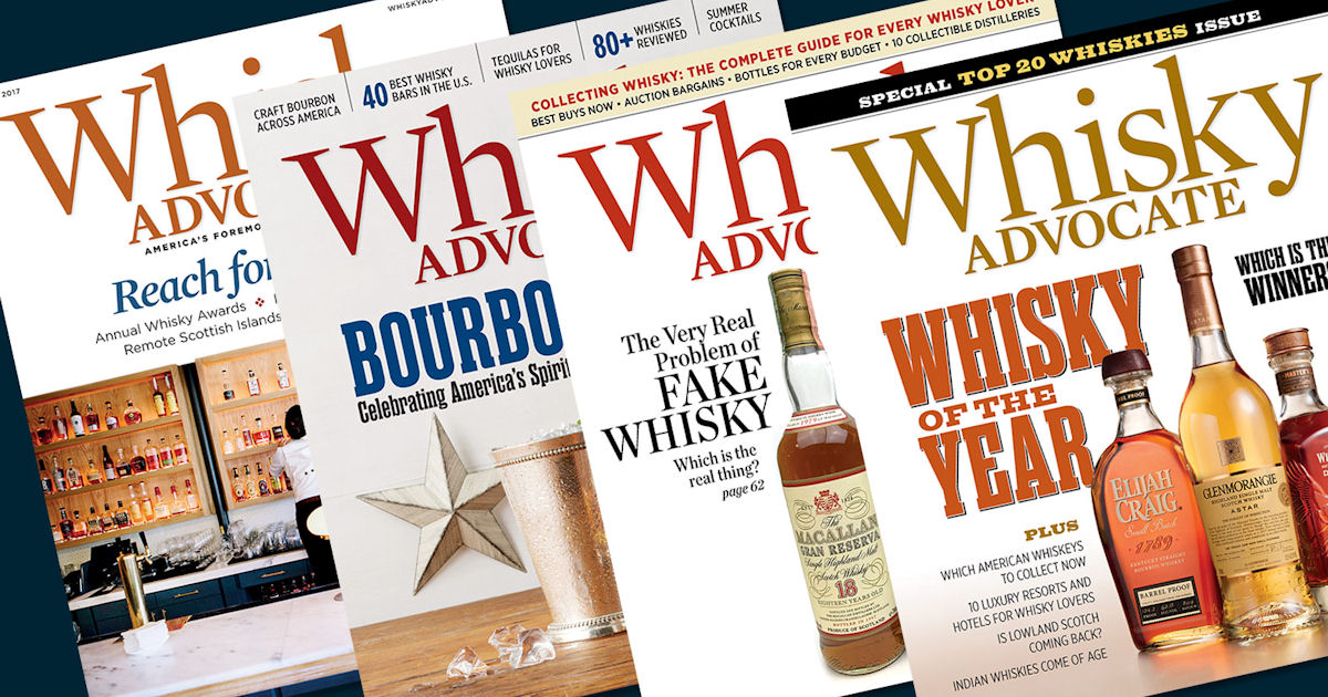 FREE Subscription to Whisky Advocate Magazine