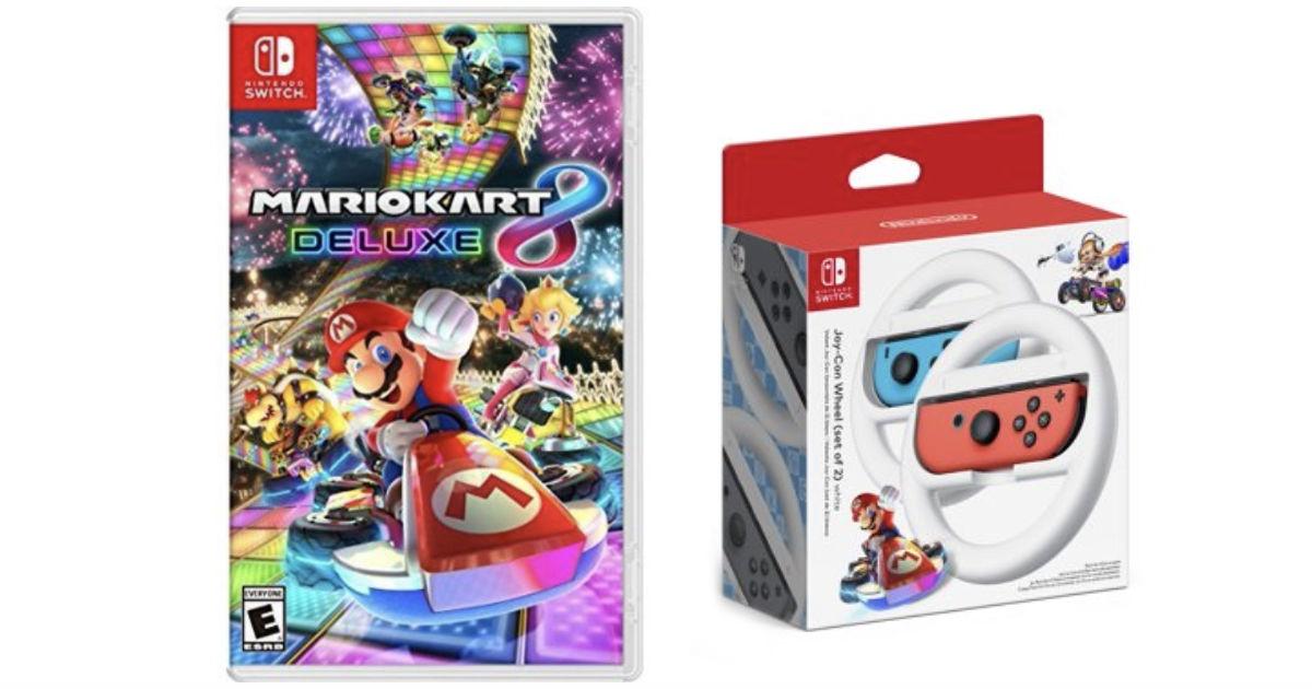 Mario Kart 8 Deluxe with Joy-C...