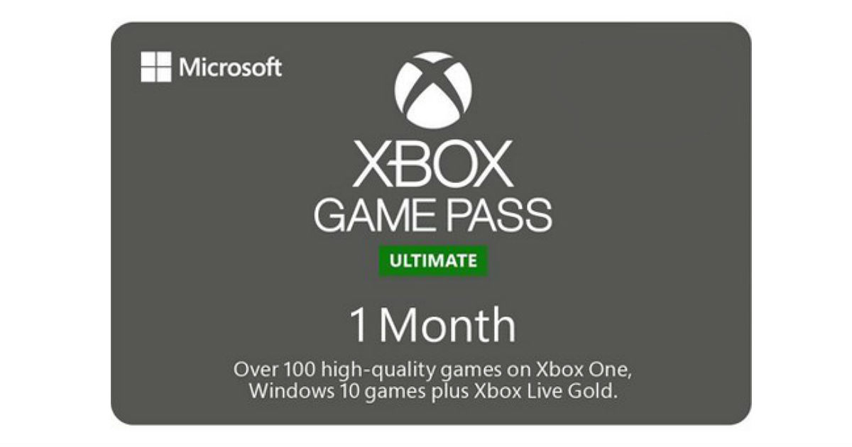 TopCashback Xbox Game Pass