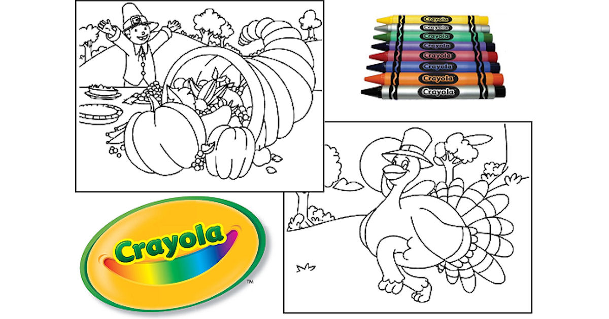 FREE Crayola Thanksgiving Colo...