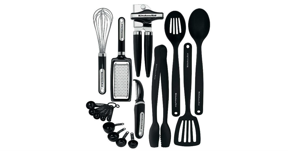 KitchenAid 17-Piece Tools and Gadget Set ONLY $29.99 (Reg ...