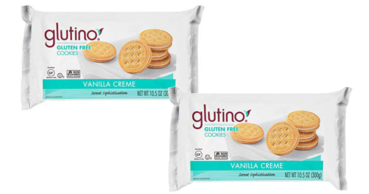 Glutino Vanilla Cream Cookies ONLY $2.83 (Reg $3.58)