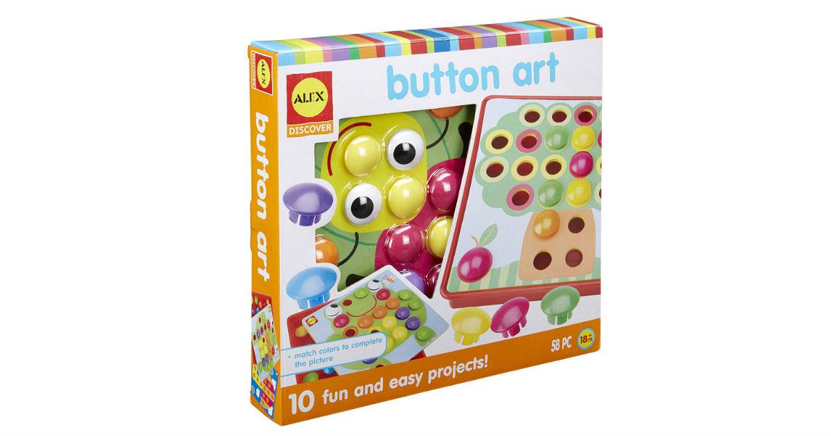 Alex Toys Discover Button Art Activity Set ONLY $9.40 (Reg. $26)