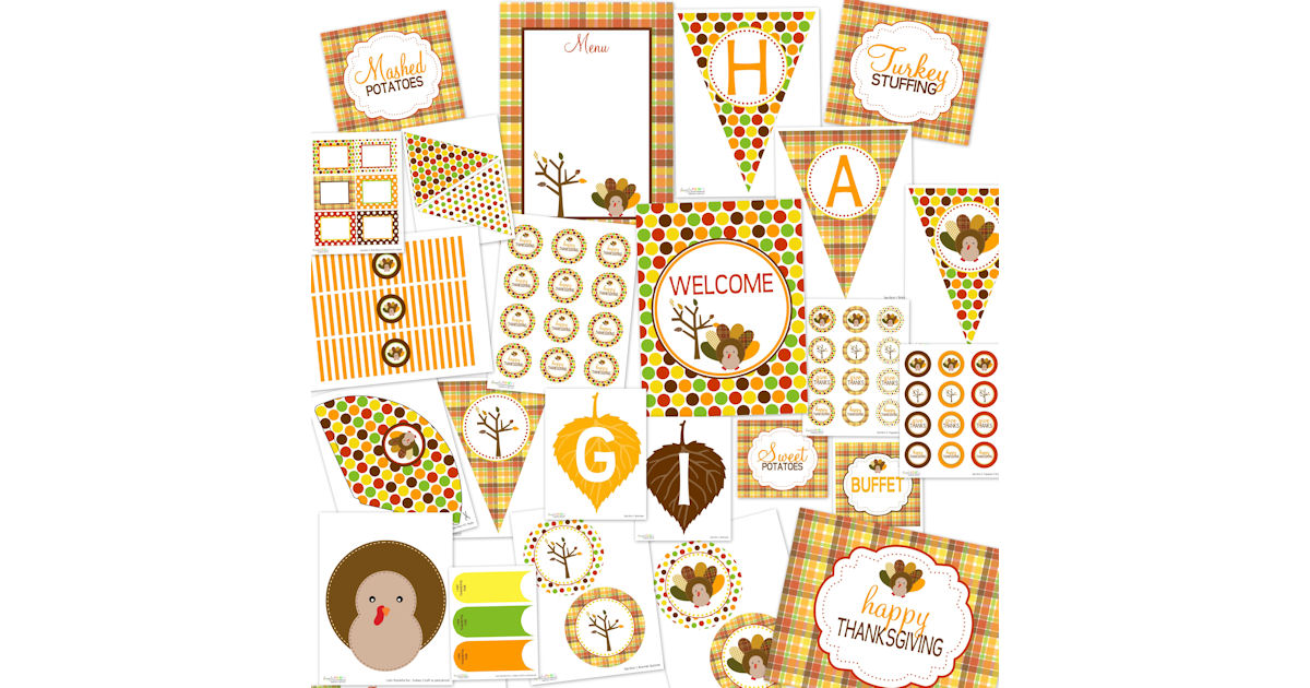 FREE Thanksgiving Printable Pa...
