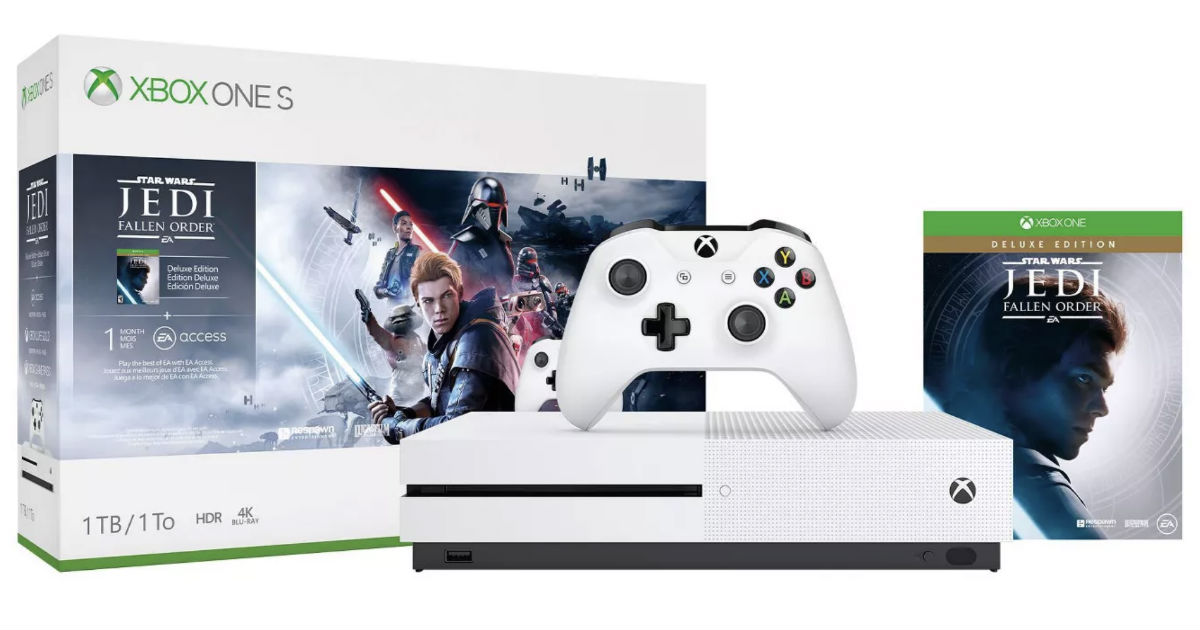Xbox One S Star Wars Bundle ONLY $199.99 + Get $40 Gift Card