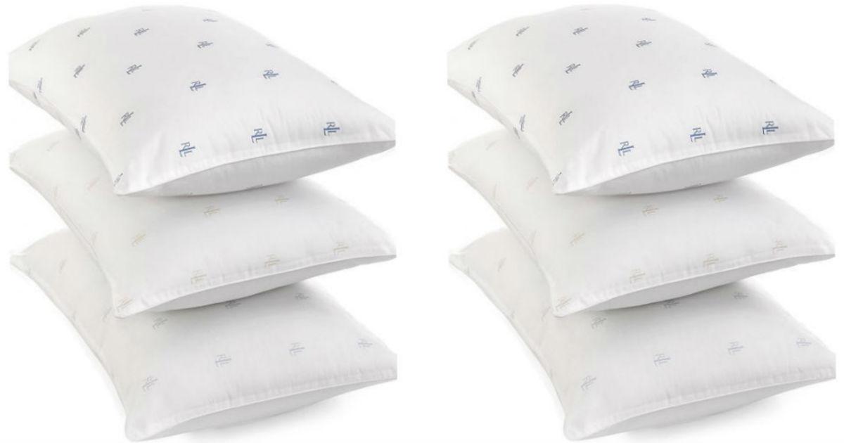 Ralph Lauren Pillow ONLY $6.99 at Macy's (Reg $20)
