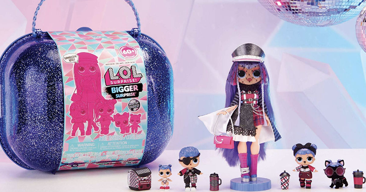 L.O.L. Surprise! Winter Disco Bigger Surprise ONLY $62.99 Shipped
