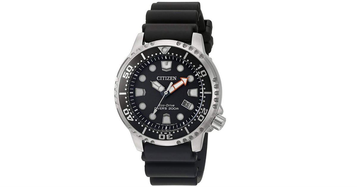 Citizen Men's Eco-Drive Promaster Diver Watch ONLY $88.99