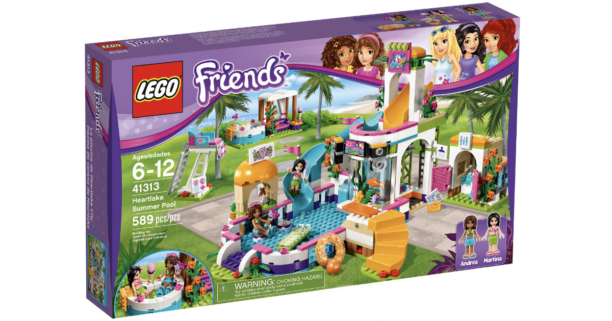 LEGO Friends Heartlake Summer Pool 589-Pc ONLY $29.99 (Reg $50)