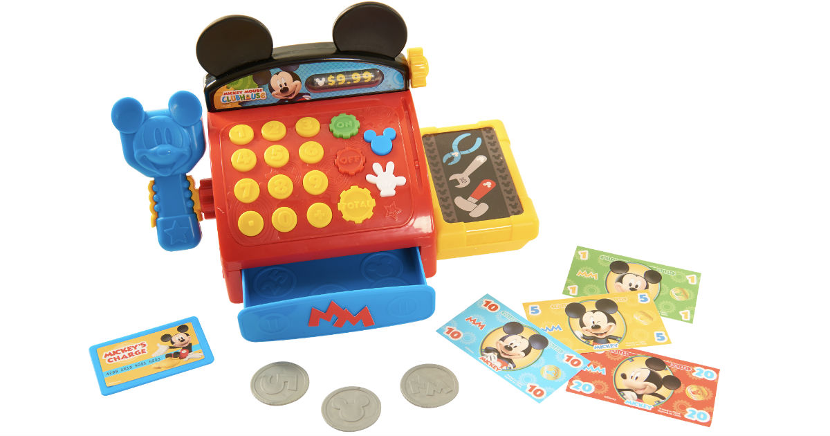 Mickey Mouse Clubhouse Cash Register ONLY $6.99 (Reg $23)