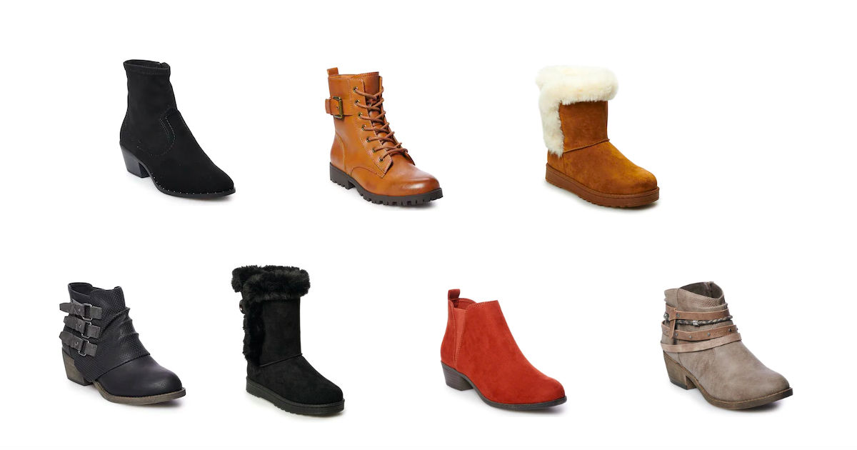 Women's Boots ONLY $15.99 at Kohl's