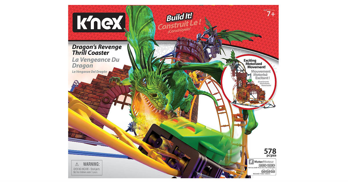 K'NEX Dragon's Revenge ONLY $25.88 (Reg. $55)