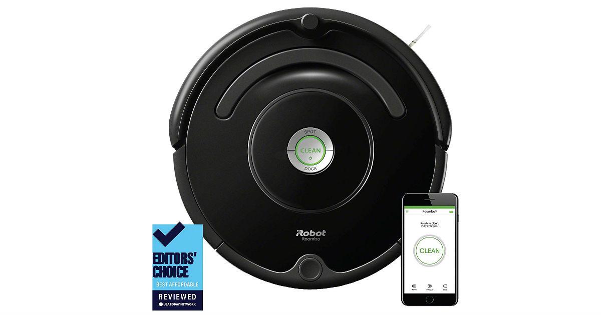 Save $100 on iRobot Roomba 675 on Amazon