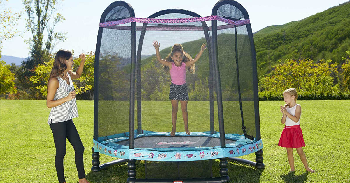 LOL Surprise 7-Foot Enclosed Trampoline ONLY $66.75 (Reg. $200)