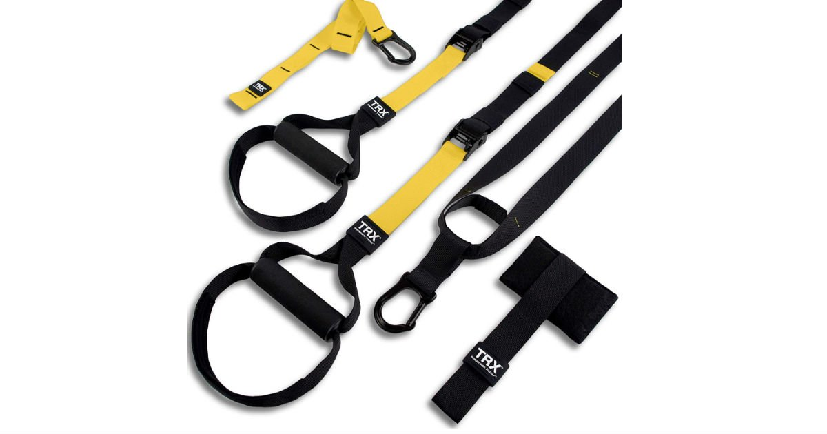 Save $55 on TRX All-in-One Suspension Training System on Amazon