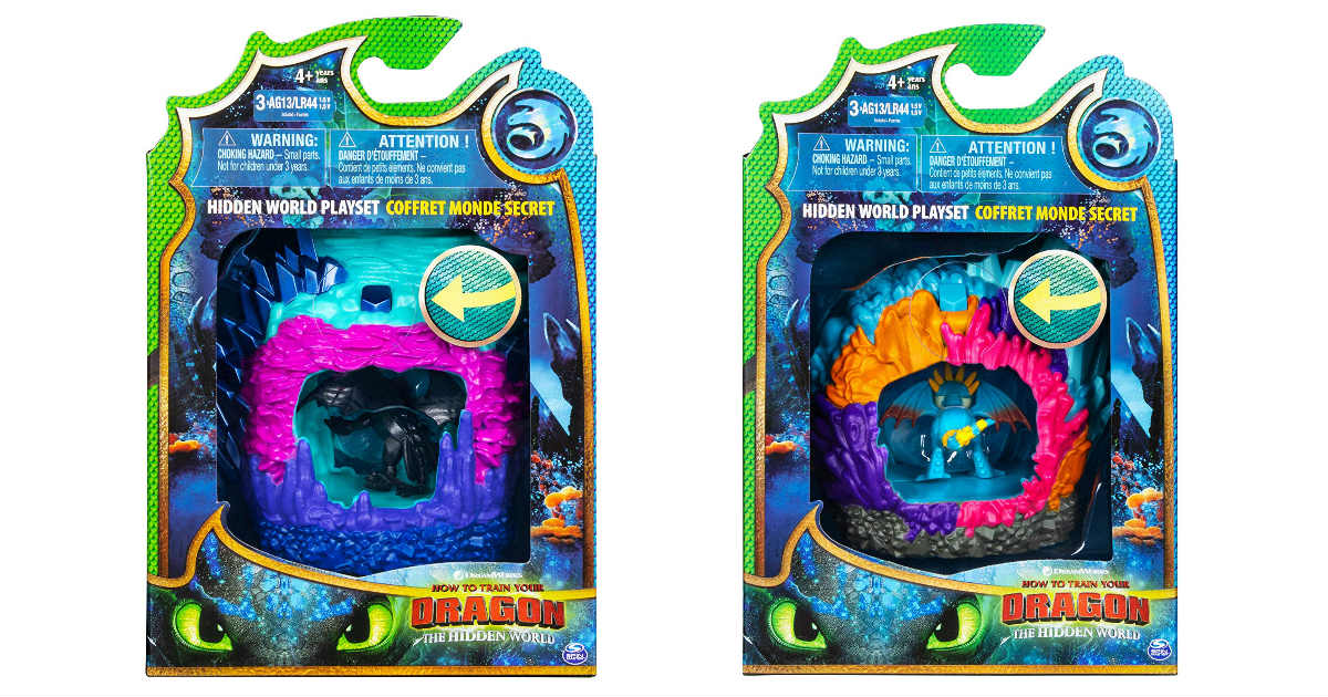 Dreamworks Dragons Hidden World Playset ONLY $6.60 (Reg. $13)