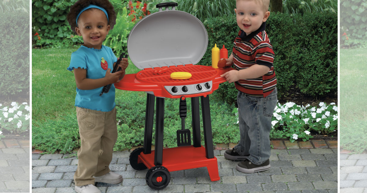 American Plastic Toys My Very Own Play Grill ONLY $9.98 (Reg $20)