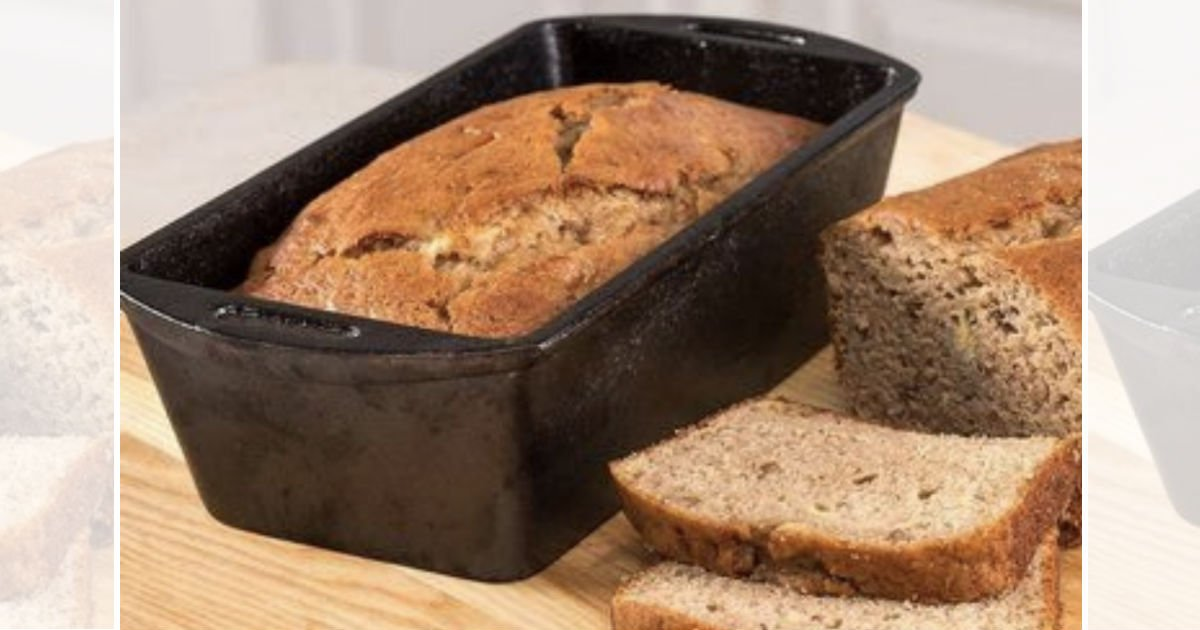 Lodge Cast Iron Loaf Pan ONLY $11.66 at Walmart (Reg $21.50)