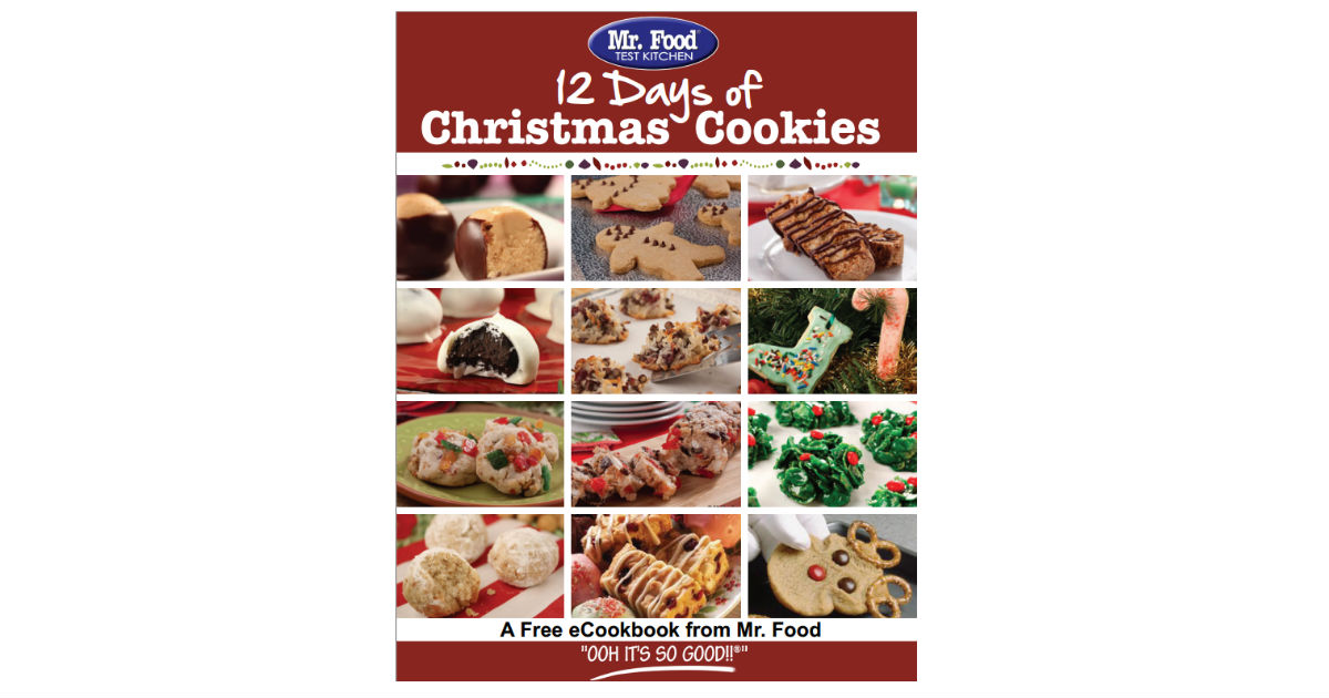 Free Mr. Food 12 Days of Christmas Cookies