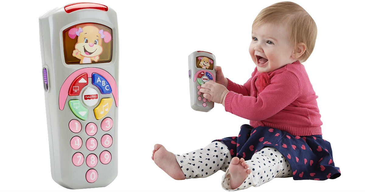 Fisher-Price Laugh & Learn Sis' Remote ONLY $5 (Reg $12)