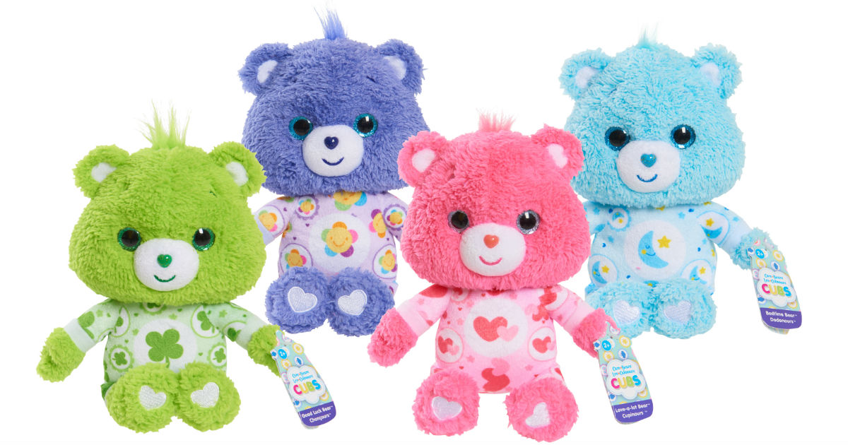 Care Bears Small Plush 4 pack ONLY $11.99 at Walmart (Reg $25)